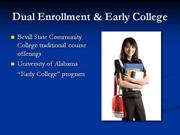 dual enrollment & early college