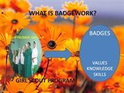 WHAT is BADGEWORK..POWERPOINT