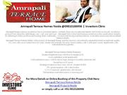 Amrapali Terrace Homes Noida @09810186936 | Investors Clinic