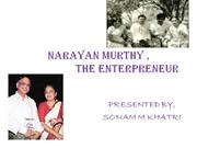 narayan murthy as an entrepreneur