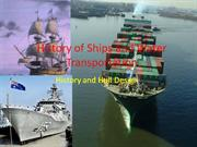 History of Ships and Water Transportation