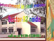 New Houses Simplex Kothi for Sale in Noida Sector 92 contact at 0120 4