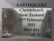 Christchurch earthquake Feb 2011