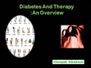 Dibetes And Therapy