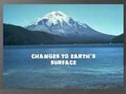 changes to earth's surface-4th grade science