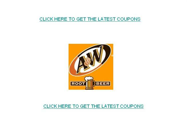 picture about Beer Coupons Printable called AW Root Beer Discount codes-Totally free Printable AW Root Beer Discount coupons