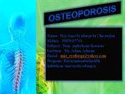 osteoporosis video unisel