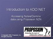 ADO.NET Training