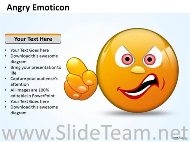 Angry Feeling Face angry face emoticon for feeling representation ...