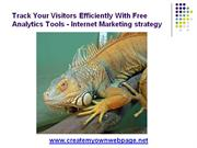 Track Visitors To Your Website With Analytics