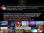 International Travel Guide Ltd - worlds leading travel group