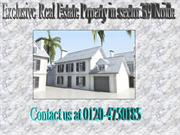Builder kothi for sale in sector 39 Noida. With parking area.Get more