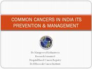 COMMON CANCERS IN INDIA - Copy
