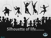 Silhouette of life.
