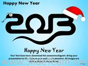 Send Wishes Of 2013 With Christmas
