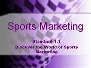 intro to sports & entertainment marketing