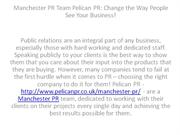 Manchester PR Team Pelican PR Change the Way People See Your Business