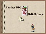 another big b-ball game