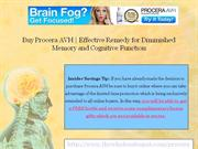 Buy Procera AVH - End Poor Memory and Diminished Cognitive Performance
