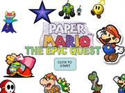 Paper Mario the epic quest-My video Game idea