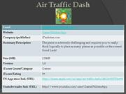 air traffic dash