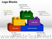 Building Lego Bricks PPT Template