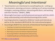 M7: Intentional Teaching_ Curriculum_models