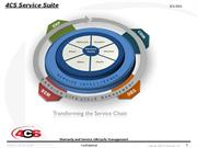 4cs service life cycle management