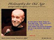 Philosophy For Old Age_GeorgeCarlin