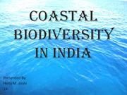 COASTAL BIODIVERSITY IN INDIA