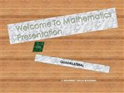 QUADRILATERAL (MATHS)