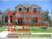 Contact us at 0120 4750182 Duplex Kothi for Sale in Sector 93A Noida