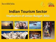 Indian Tourism Sector and Union Budget 2011