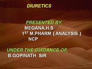 DIURETICS : NCP