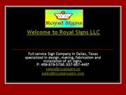 sign installation dallas, texas, tx, wholesale signs, banners, awnings