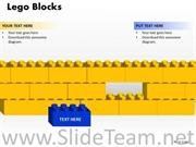 Leadership And Teamwork Concept Business Strategy with building Blocks