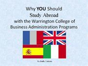 why you should study abroad with the wcba programs