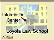 loyola law school info center
