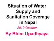 Water and Sanitation Situation in Nepal
