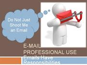 E-Mail Professional Use