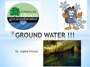 Fricioni - Ground Water