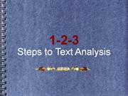 TEXT ANALYSIS PRESENTATION 2