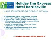 Holiday Inn Express Hotel Bartlesville Oklahoma