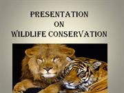 wildlife conservation ppt by rahul