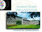INTERDUCATION OF  WTO