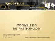 Woodville ISD- Technology Plan