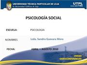 ATRACCION INTERPERSONAL