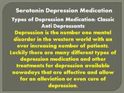 Serotonin Depression
