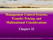 mcs,transfer pricing and multinational consideration