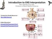 IVMS-CV-Introduction to EKG Intepretation